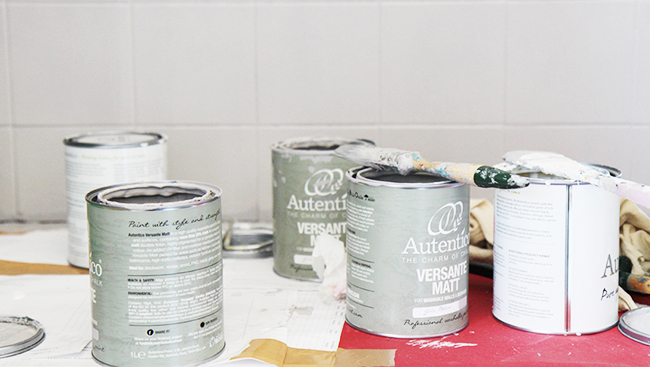 Crea decora recicla by all washi tape autentico chalk - Gama de colores para pintar ...