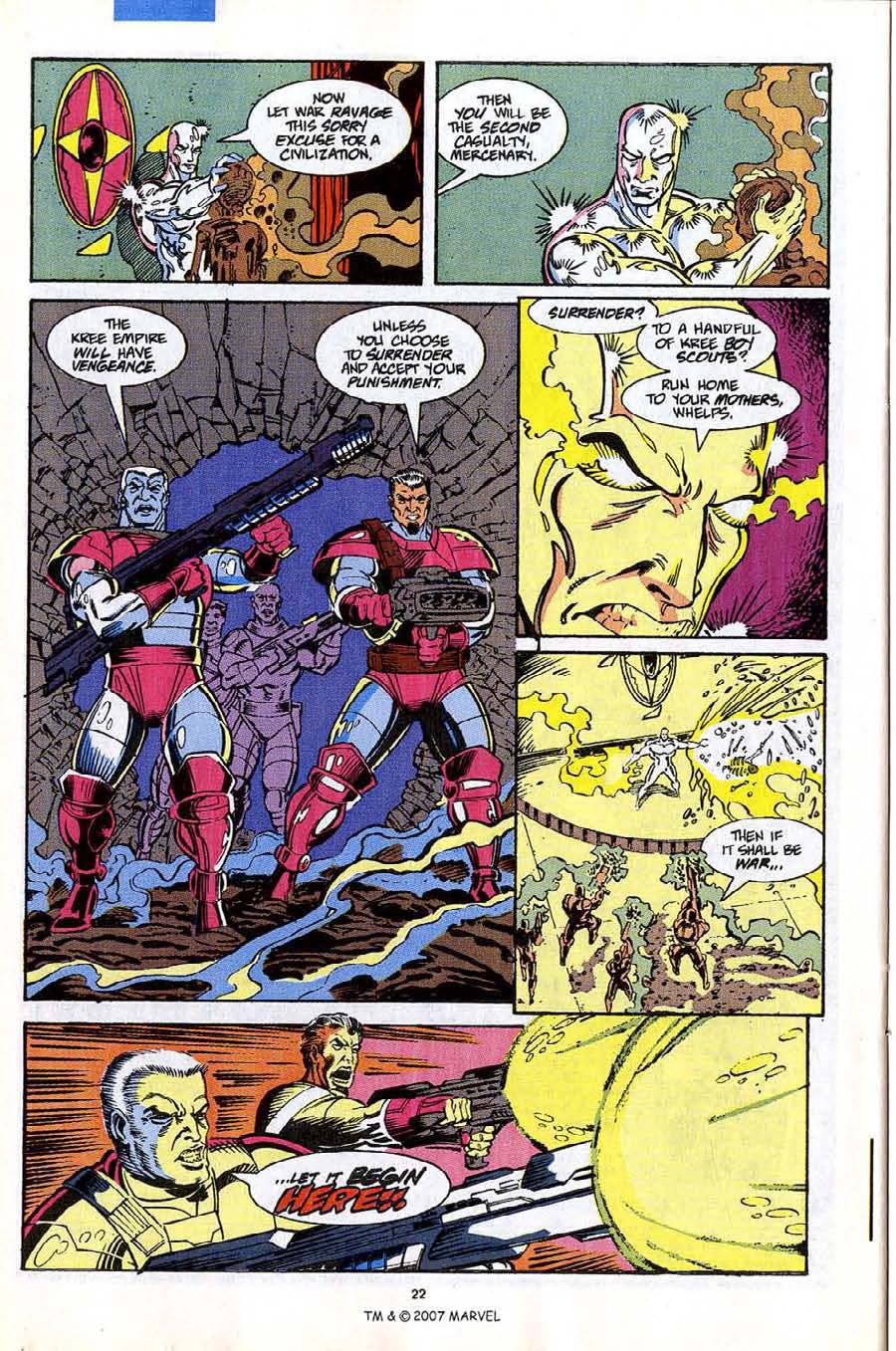 Read online Silver Surfer (1987) comic -  Issue #53 - 24