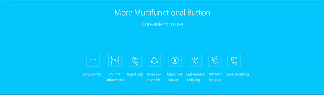 Xiaomi Mi LYEJ02LM Bluetooth Headset features and coupon
