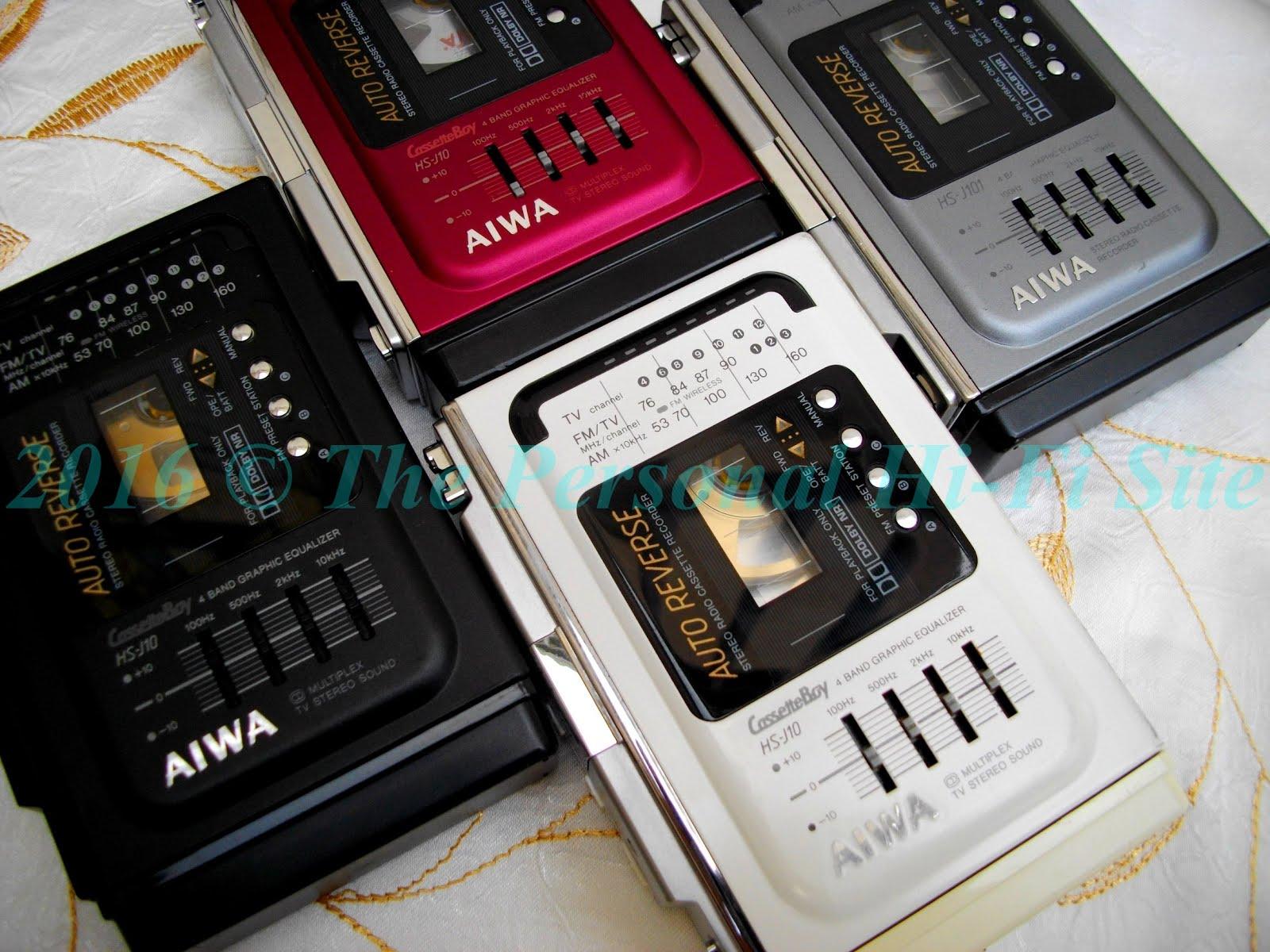 The Personal Hi Fi Blog Aiwa Hs J10 J101 J700 Stereo Wiring Diagram Tv Vhf Fm Am Radio Cassette Recorder