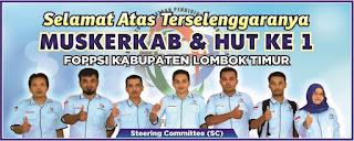 Muskerkab FOPPSI Lombok Timur 2017