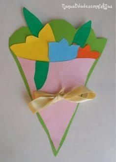 Ide membuat kerajinan kertas berbentuk bunga untuk anak-anak 8