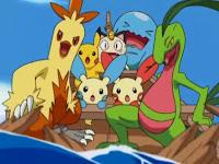 Pikachu y sus amigos