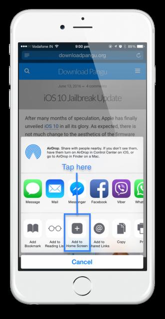 iOS jailbreak türkçe
