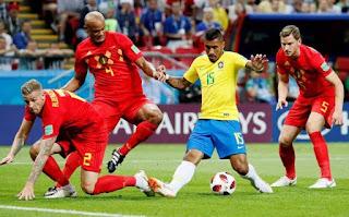 Brasil perde da Bélgica por 2 a 1 e está eliminado da Copa 2018