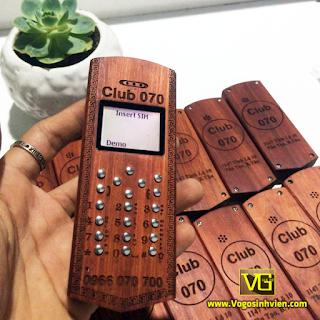 Vỏ gỗ điện thoại 1280 giá rẻ