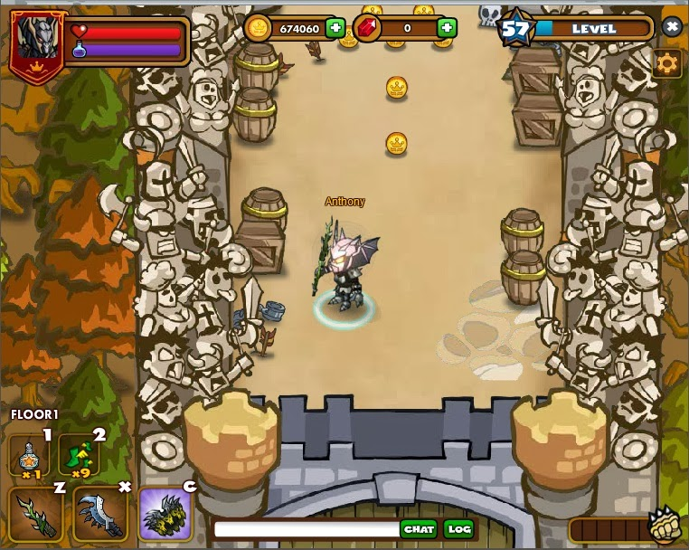 Dungeon Rampage Cheats: Keys & Dragon Knight