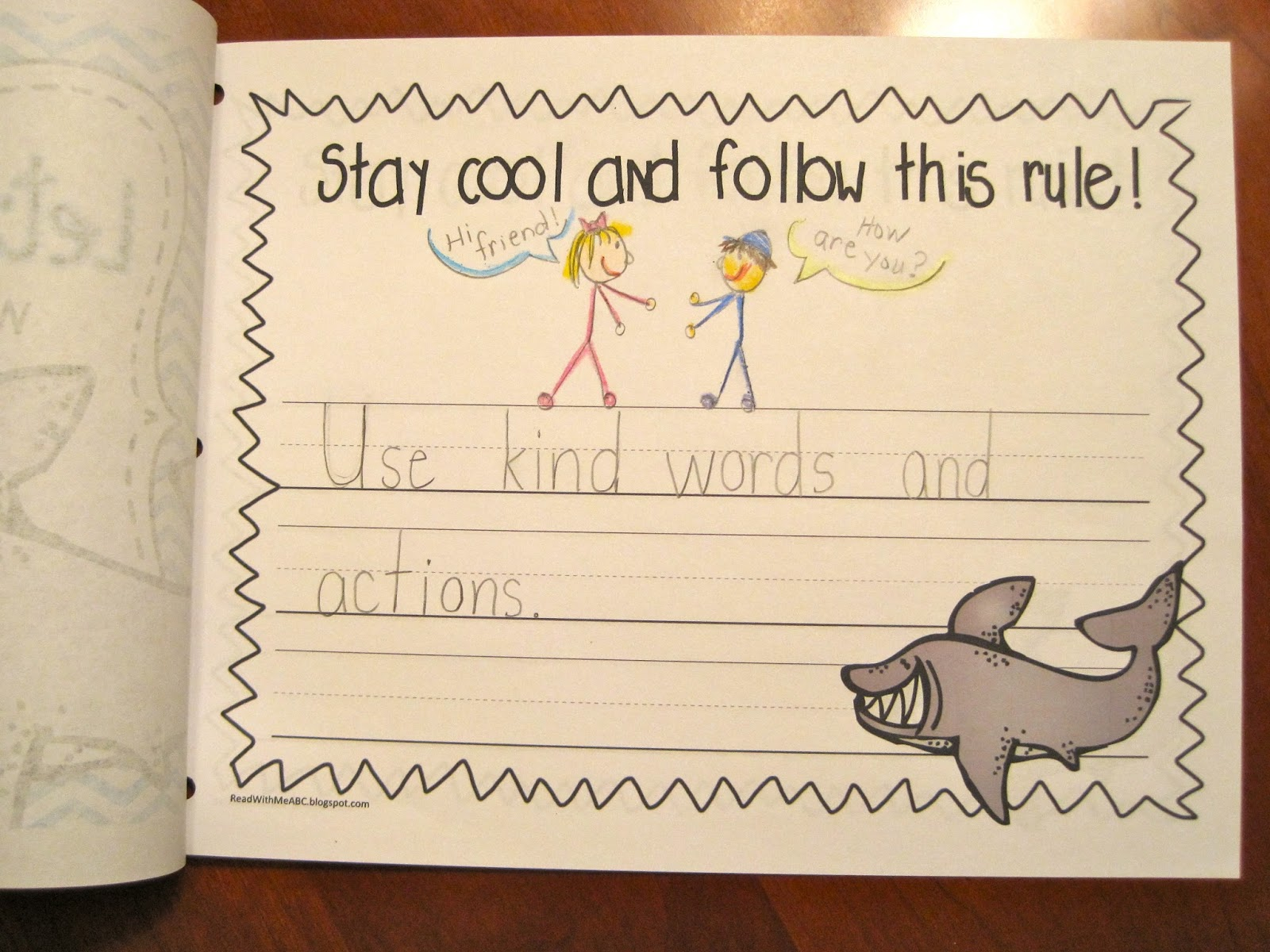 Read With Me Abc Going B2s With Clark The Shark