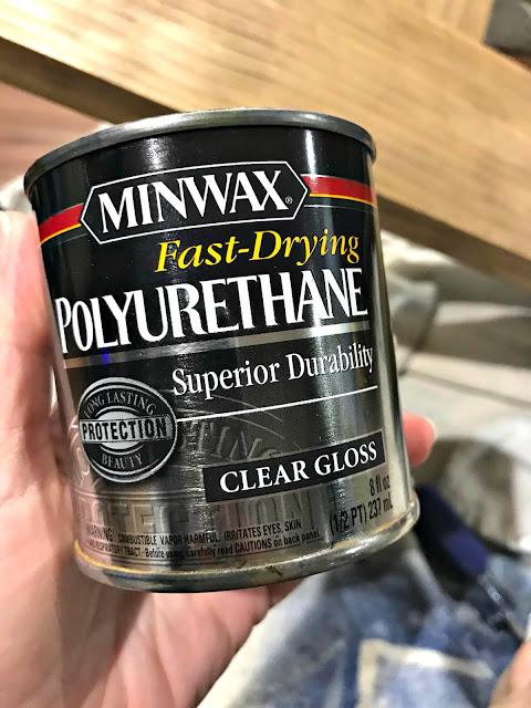 Fast drying Minwax polyurethane