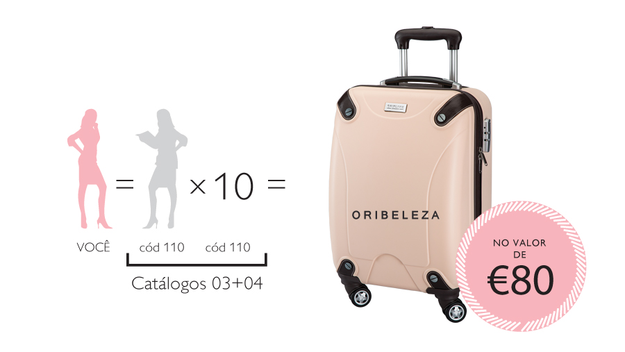 Trolley Pink Delight da Oriflame