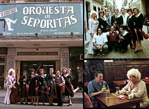 """""""Orquesta de señoritas"""" fotografía Jesus Alcantara"""