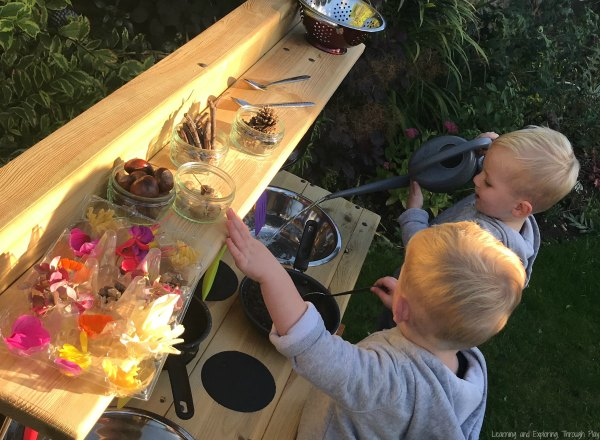 Mud Kitchen Learning and Exploring Through Play