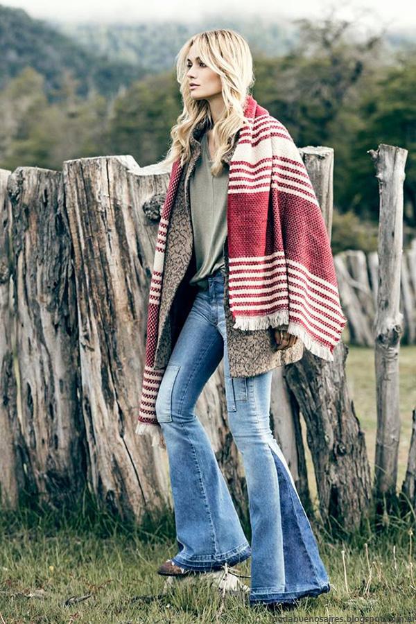 Ruanas invierno 2016 moda invierno 2016 India Style.