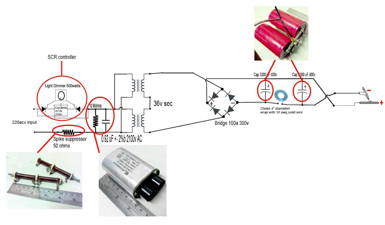 tig schematics and components diy  [ 1600 x 937 Pixel ]