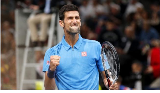Novak Djokovic Progress in Eastbourne, beat Vasek Pospisil 6-4, 6-3