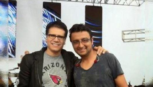 Jesús Adrián Romero y Alex Campos