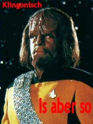 lustige Bilder mit Sprüchen Klingonisch