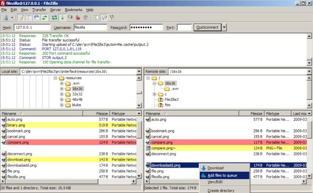 تحميل برنامج فايل زيلا للكمبيوتر عربي مجانا Download FileZilla
