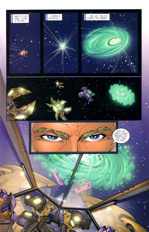 Read online Sigil (2000) comic -  Issue #3 - 12