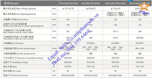 Máy Khoan và Taro Cao Cấp Thương Hiệu WDDM 370w - 750w