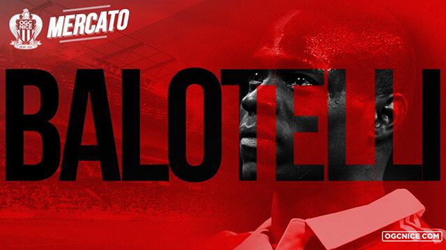 Resmi: Mario Balotelli Hijrah ke Nice