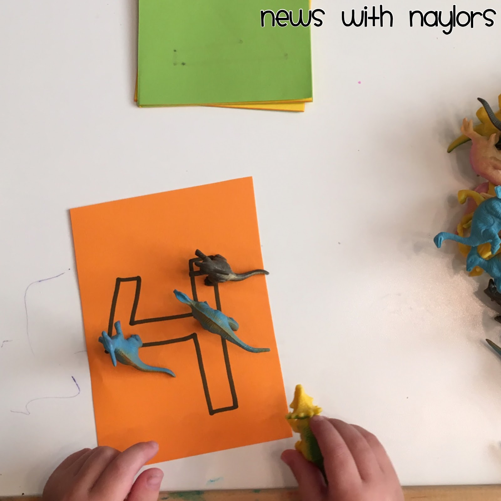 News With Naylors Letter D Letter Of The Week Age 3