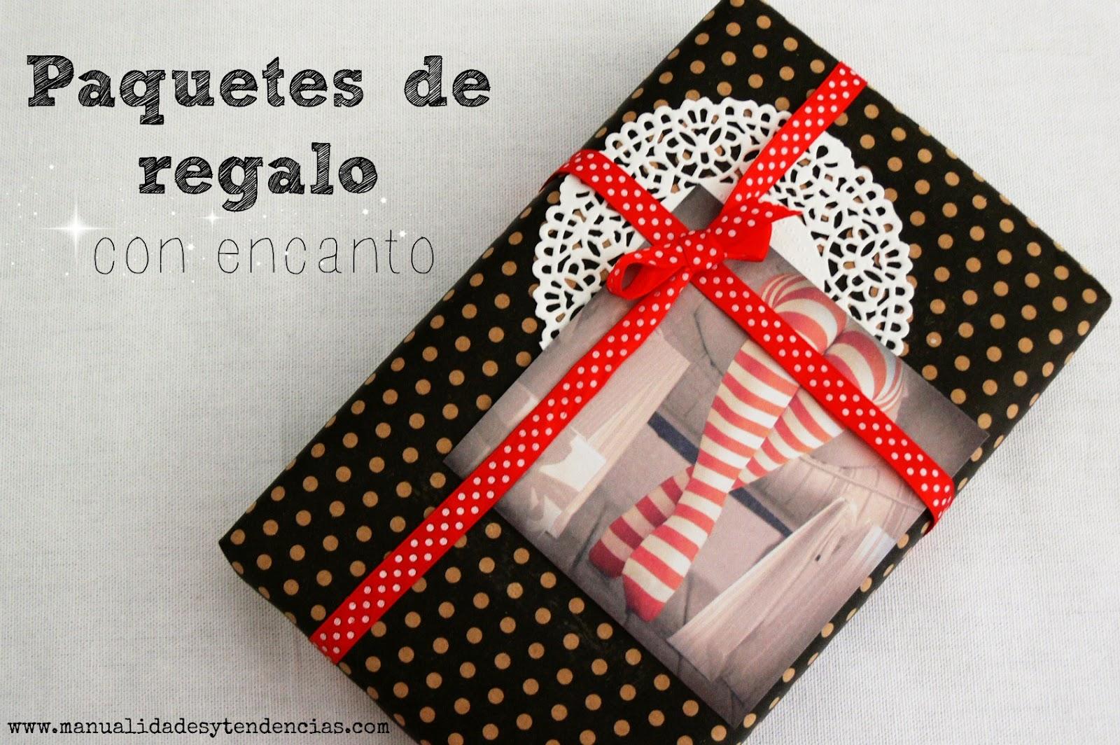 Manualidades y tendencias paquetes de regalo con encanto - Paquetes originales para regalos ...