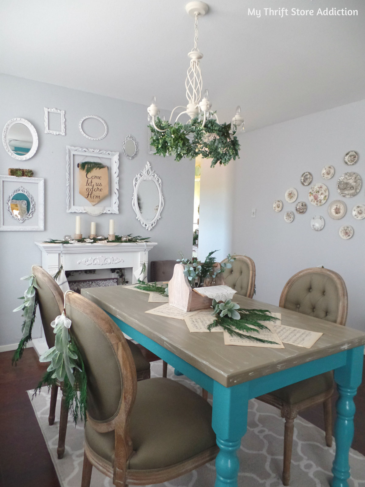 rustic and romantic Christmas