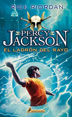 Novela de fantasía juvenil Percy Jackson