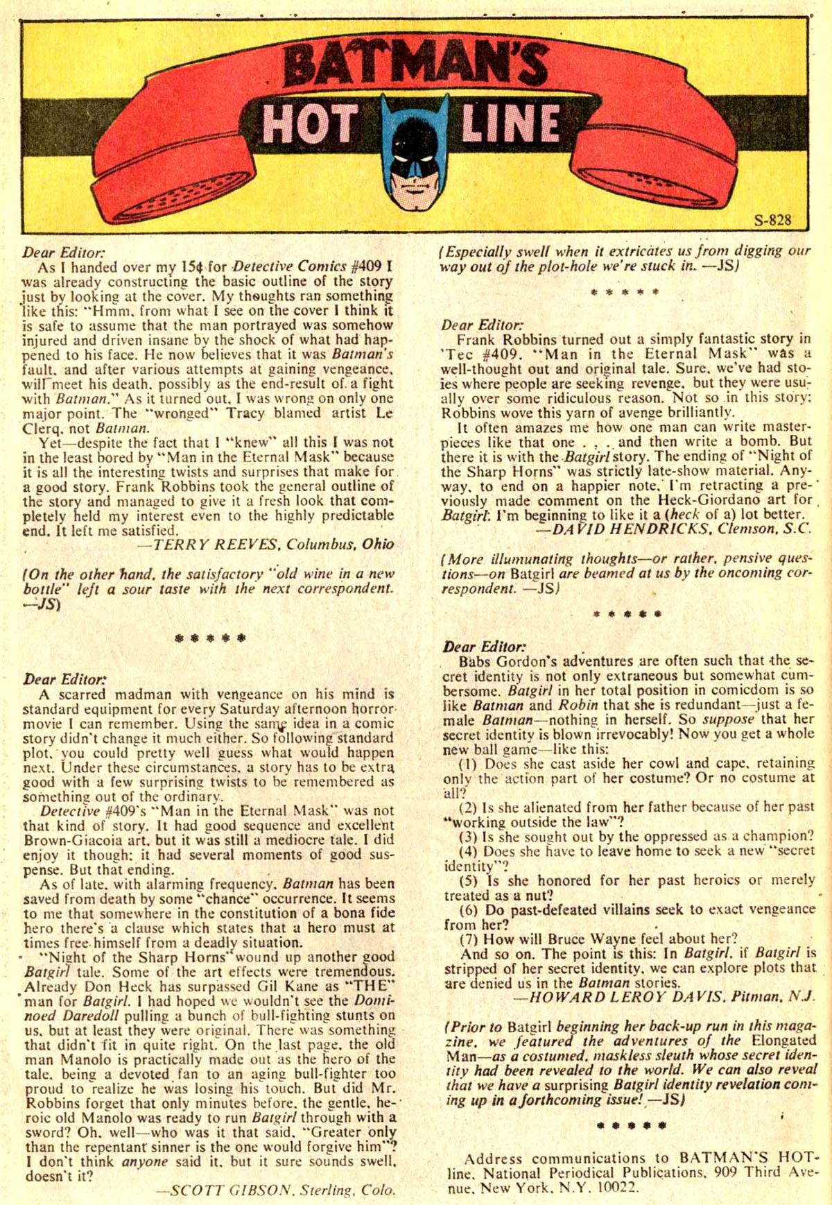 Detective Comics (1937) 413 Page 31