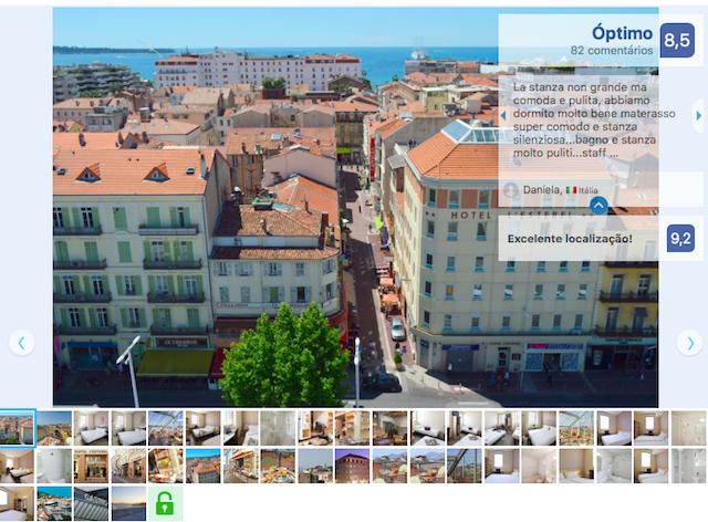 Hotel L'Esterel em Cannes