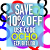 Supplies Outlet August 10% Off