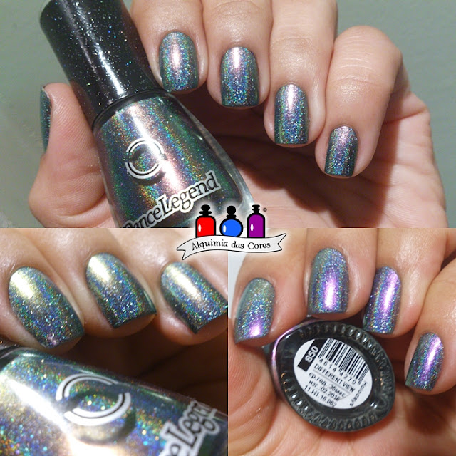 Azul, blue, BP-L060, Dance Legend Heroes, Dance Legend Military Collection, Holo, nail art, scattered holo, unhas carimbadas, Different View, Esmalte