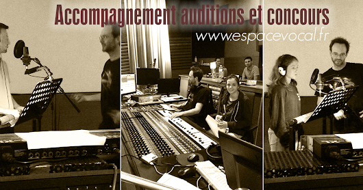 Accompagnement auditions et concours
