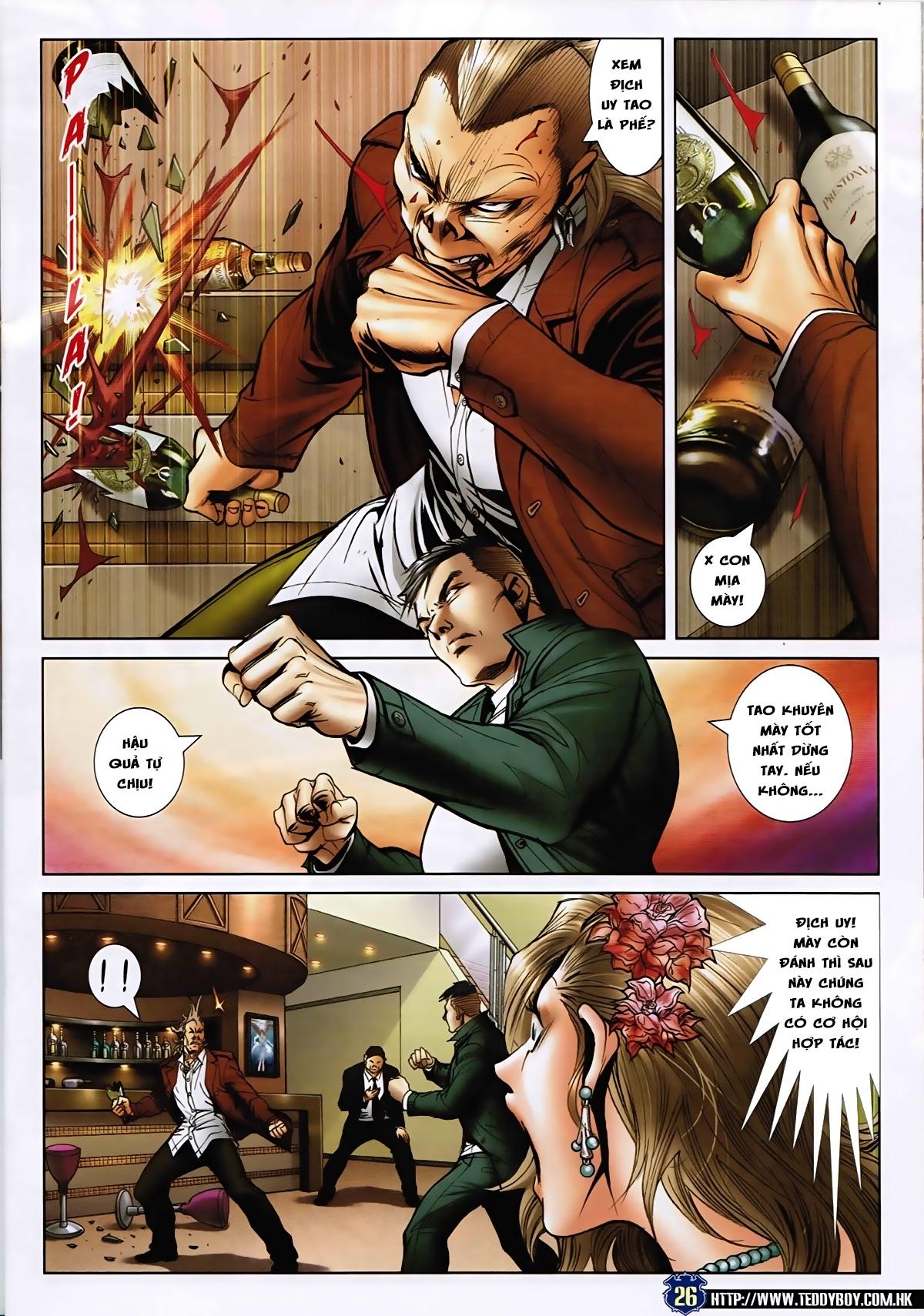Người Trong Giang Hồ - Chapter 1588: Kẹp nát bi - Pic 23