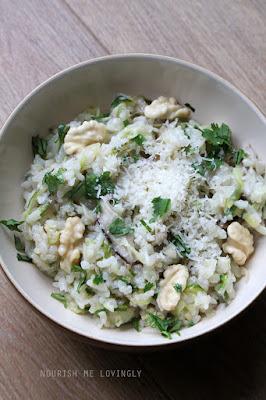 mushroom-walnut-risotto