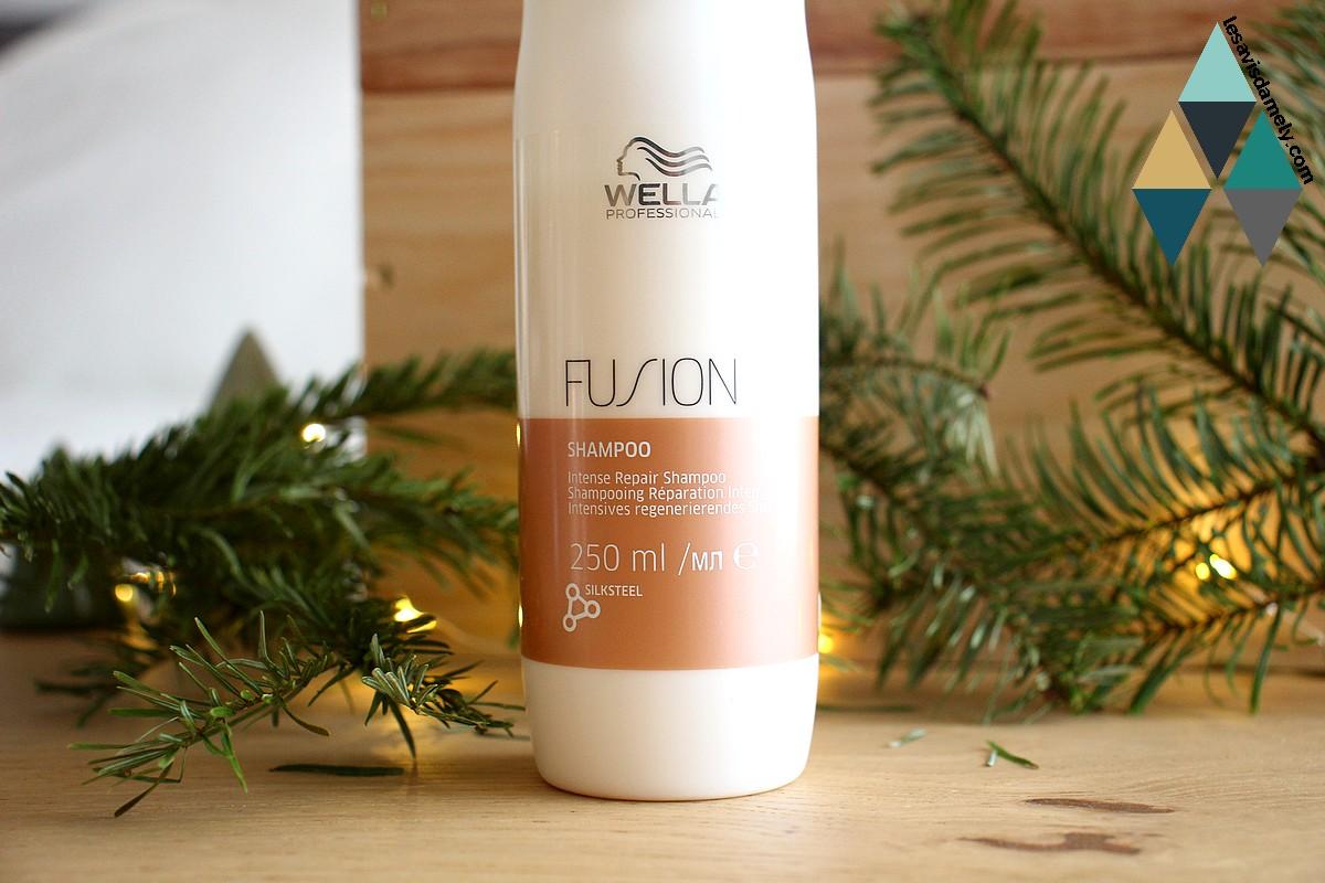 test shampoo soin réparation cheveux cassants et fragiles Fusion