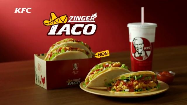 Kfc Launches Fried Chicken Tacos In South Korea Brand Eating