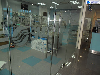 Dusted Frosted Stickers for Glass Doors - SMC Philippines