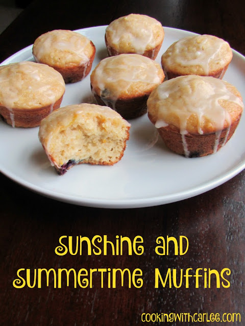 These muffins scream summertime. They are loaded with yellow squash, lemon and blueberry for a bright and fruity taste. The optional glaze makes them extra sweet and delicious!