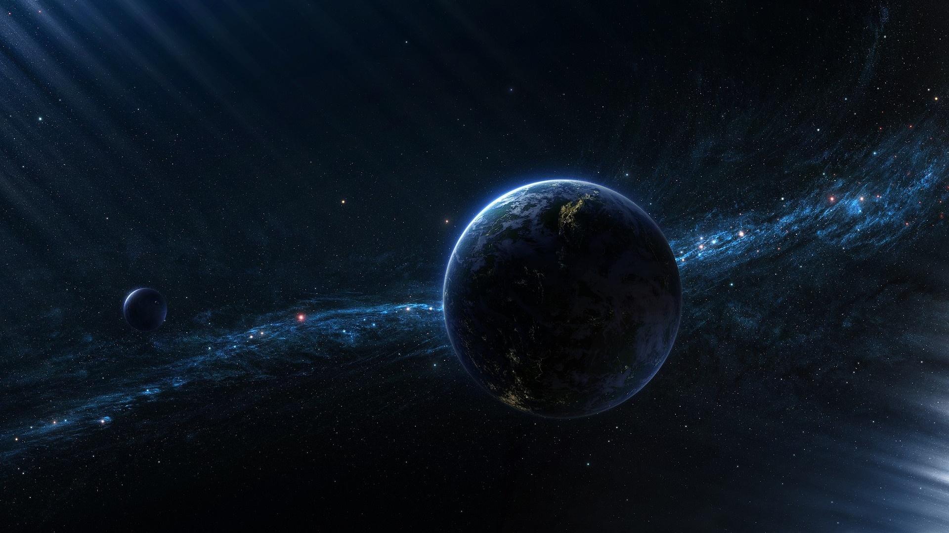 Blue Earth | Full HD Desktop Wallpapers 1080p
