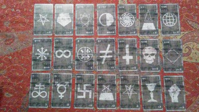 tarot cards major arcana septenary occult