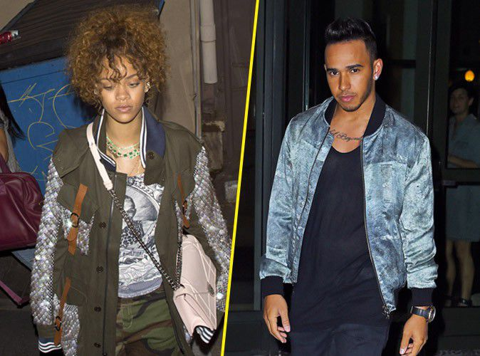 Rihanna: exhausted by work or his secret nights with Lewis Hamilton?