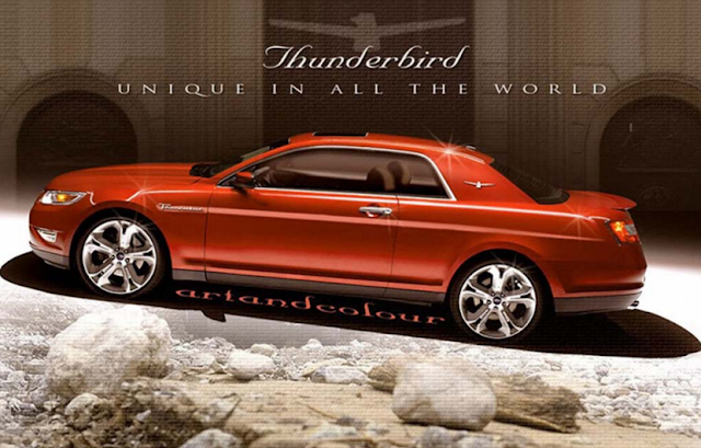 CantukAuto: 2017 Ford Thunderbird Powertrain And Changes