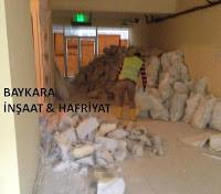 Yapı Kredi bankası Sirkeci şubesi tadilatı