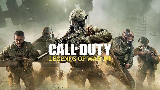رباط تحميل لعبة call of duty legends of war