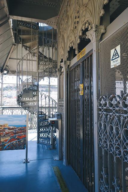 サンタ・ジュスタのエレベーター(Elevador de Santa Justa)
