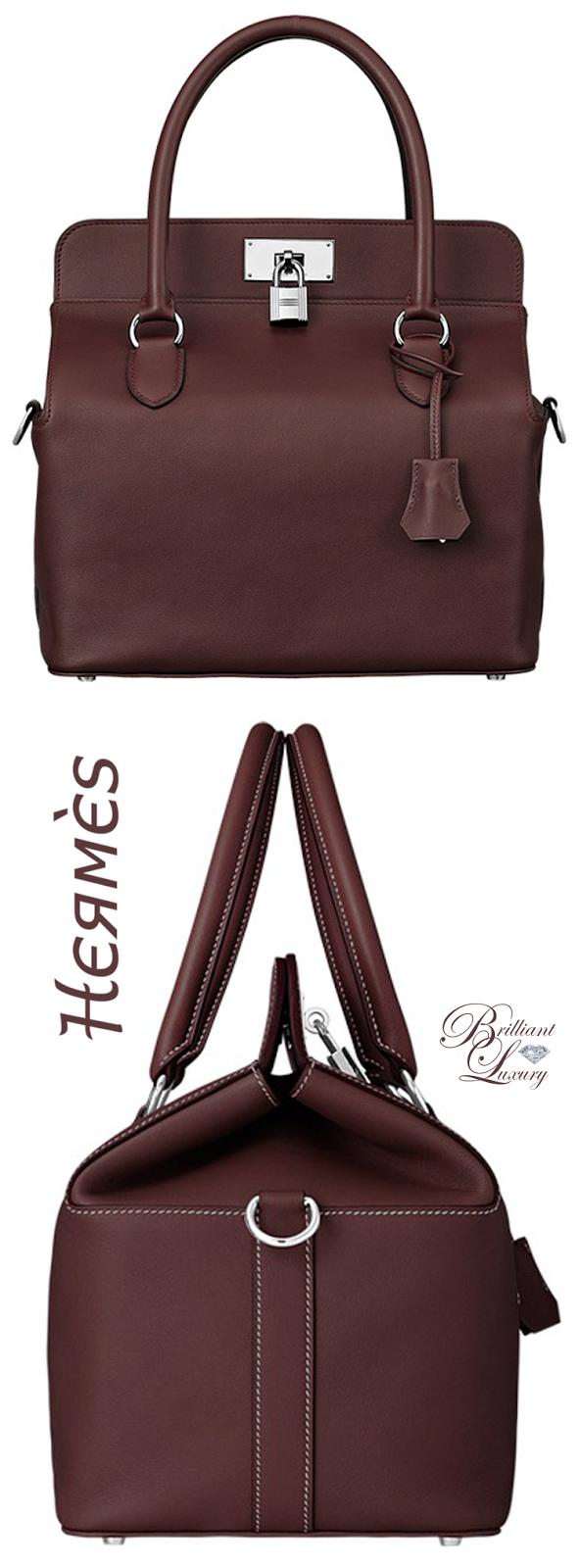Brilliant Luxury ♦ Hermès 'Toolbox' Bag