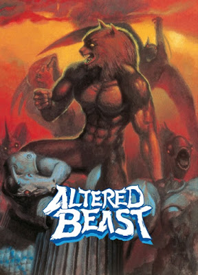 Portada videojuego Altered Beast