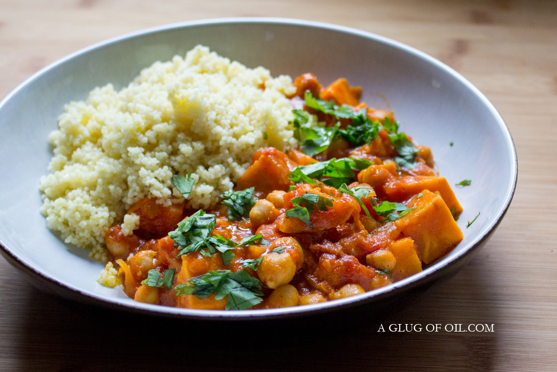 Sweet Potato and Chickpea Casserole